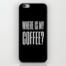 Coffee III iPhone & iPod Skin