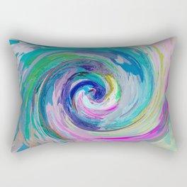 534 - Abstract colour design Rectangular Pillow