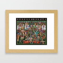 Doconopoly Framed Art Print