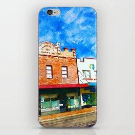 Centenary Town iPhone Skin