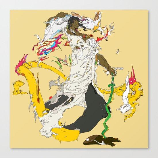 素戔男 - SUSANOO Canvas Print
