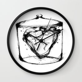 Heart In a Jar Wall Clock