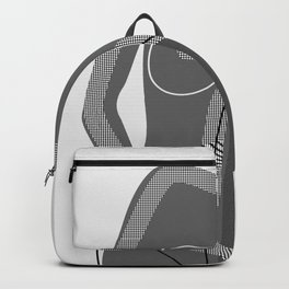 Abstract Nudity Backpack