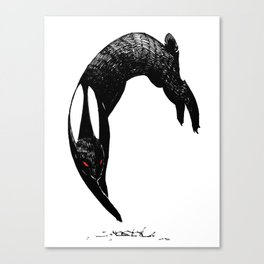 back rabbit of inle Canvas Print
