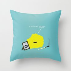 I Sulfur When You Argon Throw Pillow