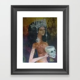 Diamond Donna Framed Art Print
