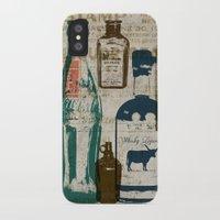 medicine iPhone & iPod Cases featuring Dirty Medicine by Tim Schmidt X Design