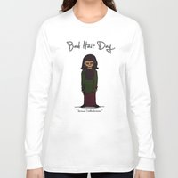 planet of the apes Long Sleeve T-shirts featuring bad hair day no:1 / Planet of the Apes by niles yosira