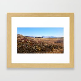 Land of Fire and Ice 1 Framed Art Print