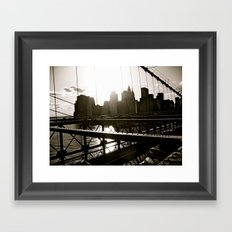 WHITEOUT : Take Me There Framed Art Print