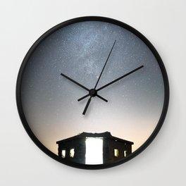 Pillbox Skies Wall Clock