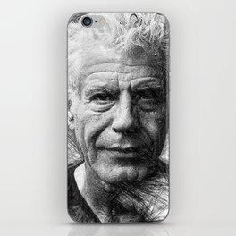 Anthony Bourdain iPhone Skin