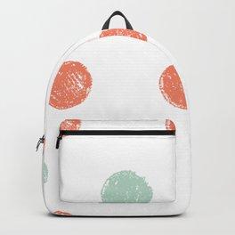 Dot Pattern Backpack