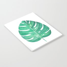 Monstera Leaf #2 | Watercolor Painting Notebook