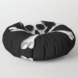 Jolly Roger - Pirate Hatching Floor Pillow