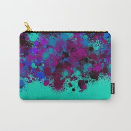 paint splatter on gradient pattern tgp Carry-All Pouch