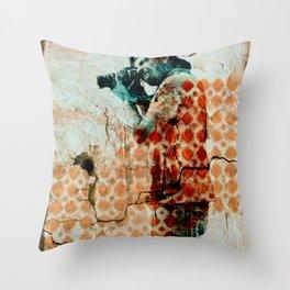 Hostage Throw Pillow