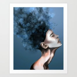 "OCD: ""Intrusive Thoughts"" Art Print"