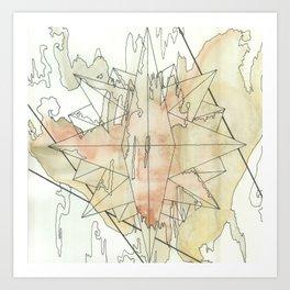 C.O.M.P.A.S.S. No. 8 Art Print