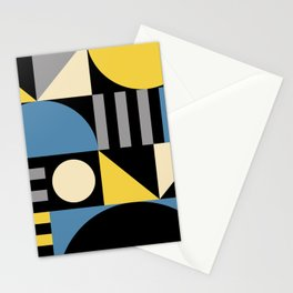 Mid Century Modern Geometric Abstract 930 Stationery Cards