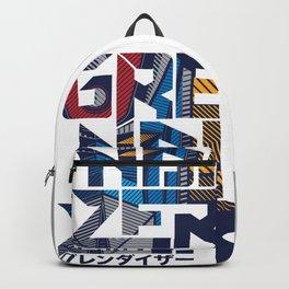 169 Grendizer Font Backpack