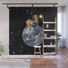 On Top of the World Wall Mural