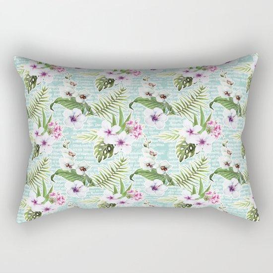 Tropical Summer #12 Rectangular Pillow