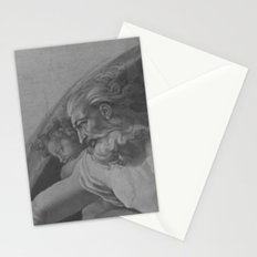 Black White Sistine Chapel Stationery Cards