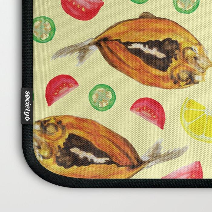 Milkfish Pattern Laptop Sleeve