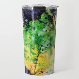 A Splash of Green Travel Mug
