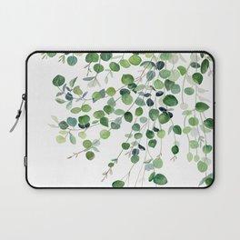 Eucalyptus Watercolor Laptop Sleeve