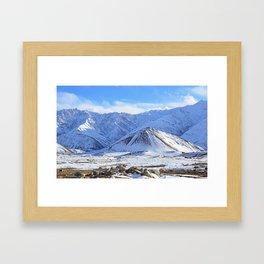 Beautiful Winter Season Landscape Framed Art Print
