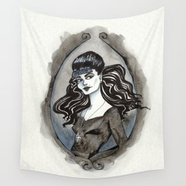 D is for Death Wall Tapestry