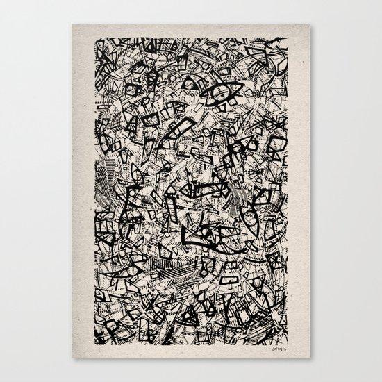 - newspaper - Canvas Print