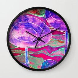 So landscape Wall Clock