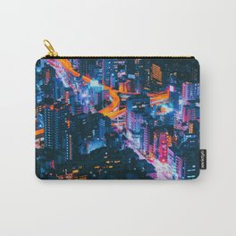 Cityscape Night View Carry-All Pouch