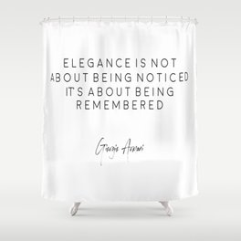 Fashion Poster, Fashion Quote, Home Decor, Decoration, Bedroom Quote Shower Curtain