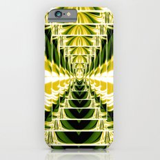 Abstract.Green,Yellow,Black,White,Lime. Slim Case iPhone 6s