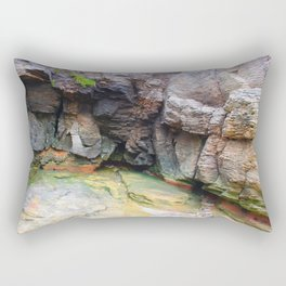 Shaped By The Sea - Island Life Rectangular Pillow