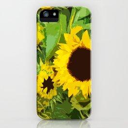sunflower. amsterdam iPhone Case