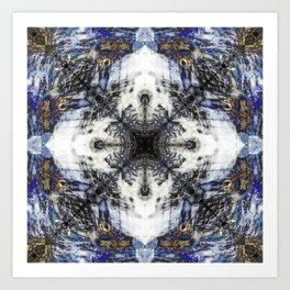 Flow Fractal Art Print
