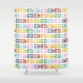 Camp Color Shower Curtain