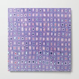 Bright Purple Metal Print