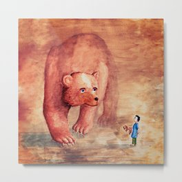 Teddy Bear's Family Metal Print