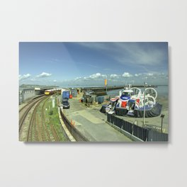 Ryde Rail - Craft Metal Print