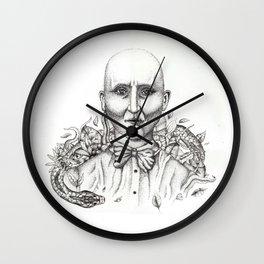 jungle man Wall Clock