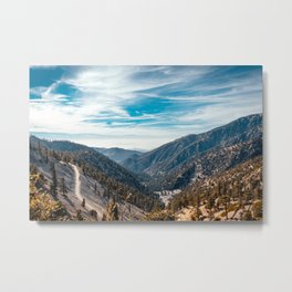 Mount Baldy View Metal Print