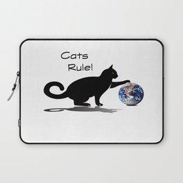 Cats Rule Laptop Sleeve