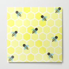 Oh Honey Metal Print