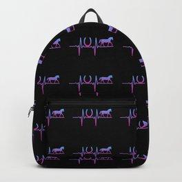 HEARTBEAT HORSE HORSESHOE Backpack